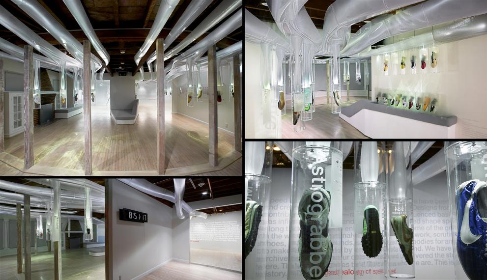 Nike Genealogy of Speed Exhibition